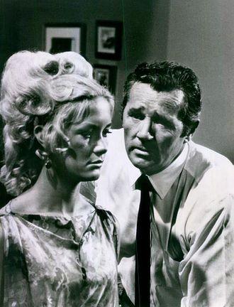 Joan Van Ark - Van Ark and Howard Duff in Felony Squad (1968)
