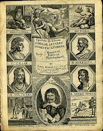 James Howell - Image: Howel Familiar Letters 1645