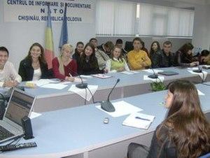Moldova–NATO relations - Image: Hpim 1306