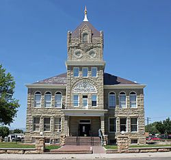 The Huerfano County Courthouse is located in Walsenburg.