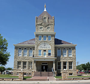 Huerfano County, Colorado - Image: Huerfano County Courthouse and Jail