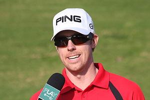English: IMG_0520, Hunter Mahan at a golf tour...