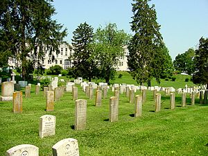 United States Naval Academy Cemetery - Headstones at the USNA Cemetery