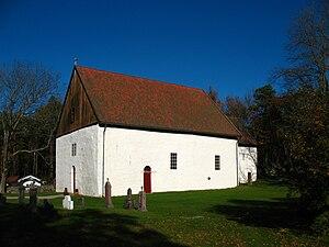 Kirkeøy -  Hvaler Church on Kirkeøy