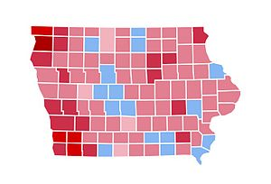 United States presidential election in Iowa, 1984