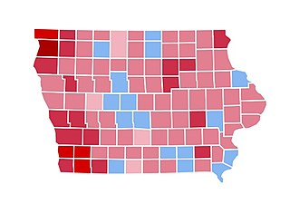 United States presidential election in Iowa, 1984 - Image: IA1984