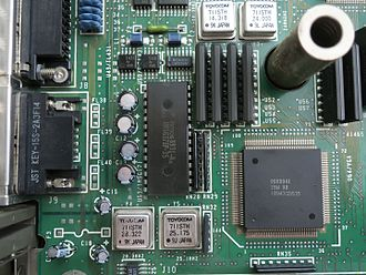 Video Graphics Array - VGA section on the motherboard in IBM PS/55