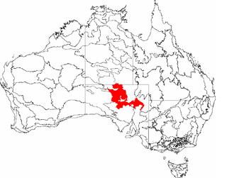 Stony Plains Region in Australia