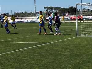 Argentina at the 2016 Summer Paralympics - Argentina playing Ukraine at the IFCPF Pre Paralympic Tournament Salou 2016, the last major preparation event ahead of the Rio Games