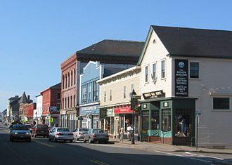 Yarmouth, Nova Scotia - Main Street Yarmouth