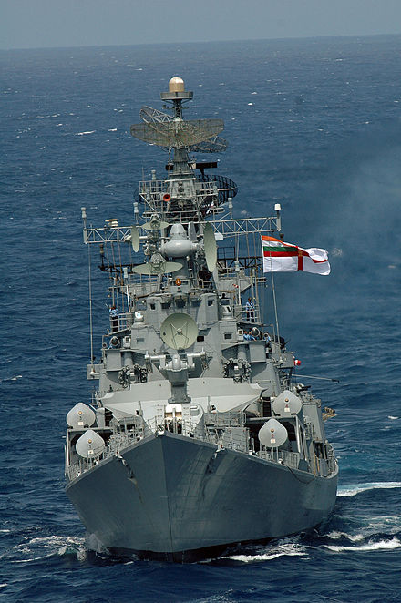 Indian Navy destroyer INS Ranjit