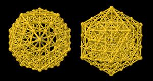 Icosahedral twins - Image: Icotwin Model