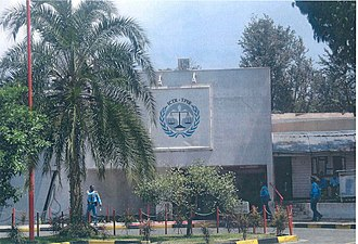 Arusha - The Offices of the International Criminal Tribunal for Rwanda in the year 2003.