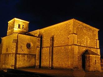 Cervera de Pisuerga - The old Santa María del Castillo Church, in Cervera de Pisuerga.