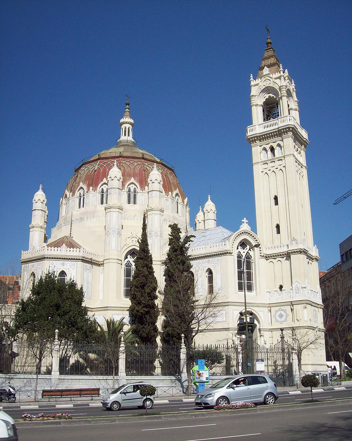 Church Of San Manuel Y San Benito Madrid Wikipedia