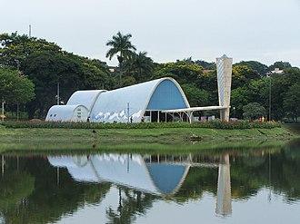 Oscar Niemeyer - São Francisco de Assis Church, Belo Horizonte City, Minas Gerais, Brazil