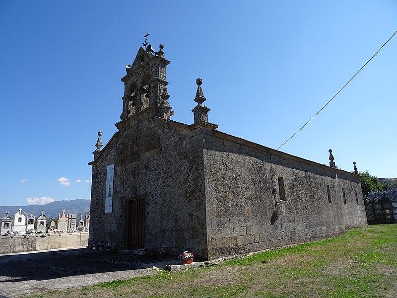 Ficheiro igrexa de san cibrao de lama m ba os de molgas ourense 01 jpg wikipedia a - Banos de molgas ...