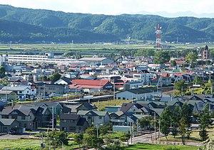 Ikeda, Hokkaido - View of Ikeda