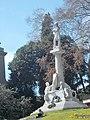 Il monumento a Giuseppe Mazzini poco distante da piazza Corvetto.jpg