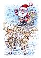 Illustration pour un projet de carte de voeux à Noël.jpg