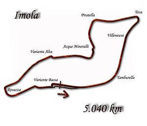 1994 San Marino Grand Prix - Image: Imola 1981