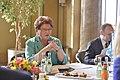 Inese Lībiņa-Egnere Minhenē tiekas ar Bavārijas landtāga prezidenti (16833867712).jpg