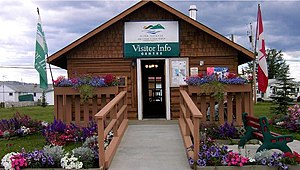 Taylor, British Columbia - District of Taylor Information Centre