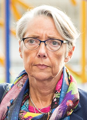 Élisabeth Borne - Image: Informal meeting of energy and transport ministers (TTE). Arrivals, transport ministers Elisabeth Borne (37190062412) (cropped)
