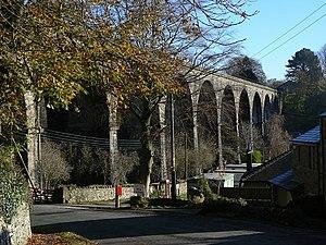 Ingleton (Midland) railway station - Ingleton Viaduct