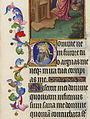 Initiale à la tête de sarrasin - Très Riches Heures du duc de Berry - f65r.jpg