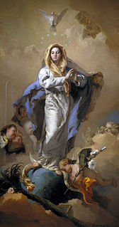 Immaculate Conception Catholic doctrine that Mary was conceived free from original sin