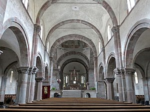 Innichen Abbey - Interior