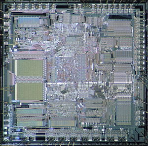 Intel 80286 - Intel 80286 die shot