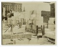 Interior work - marble blocks and construction of walls, facing northeast (NYPL b11524053-489583).tiff