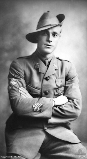 10th Battalion (Australia) - Roy Inwood, who received the Victoria Cross for his actions during the fighting around Polygon Wood