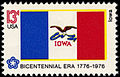 Iowa Bicentennial 13c 1976 issue.jpg