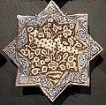 Iran, mattonelle stellate con animali, 1250-1300 ca. capre.JPG