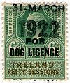 Ireland Dog Licence 1922.jpg