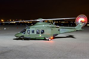 Defence Forces (Ireland) - Irish Air Corps AgustaWestland AW139 helicopter
