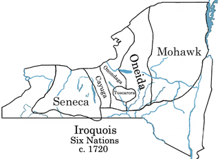 Iroquois Six Nations c.1720