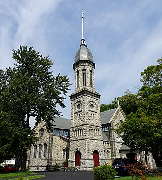 Irvington, New York - The village's Presbyterian Church