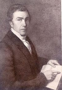 1823 : Baptist Missionary Isaac McCoy Opens Carey Mission School Near Present-Day Niles, Michigan