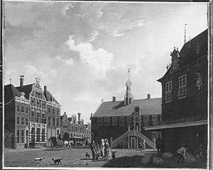 Der Marktplatz von Hoorn
