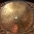 Isacc Doolittle engraved signature from brass clockface.jpg