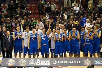 Italy national basketball team - Team Italy in 2011