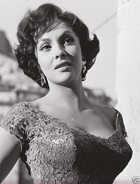 Retrach de Gina Lollobrigida