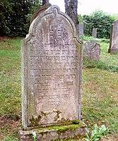 Jüdischer Friedhof Schwelm - Grabstein David Meyer junior.jpg