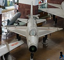 J-7I fighter at the Beijing Military museum.jpg
