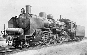 JNR Class C54 - C54 13 in January 1935
