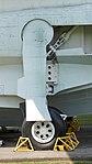 JMSDF US-1A(9076) left main landing gear left side view at Kanoya Naval Air Base Museum April 29, 2017.jpg